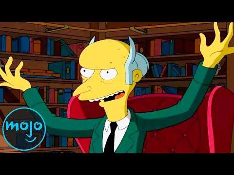 Top 10 Mr. Burns Episodes