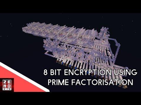 8 bit to 24 bit encryption using Primefactorisation