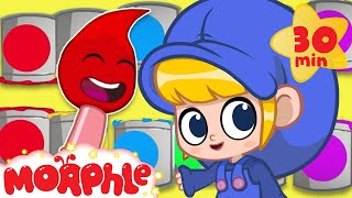 Learning Colors With Morphle! | Cartoons For Kids | My Magic Pet Morphle | Learning For Kids
