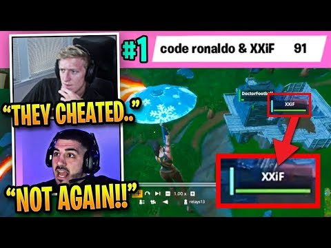 Streamers *SHOCKED* by Pros CHEATING AGAIN in Fortnite World Cup!