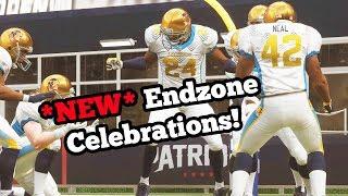 Madden 19 PC Gameplay - NEW Madden 19 Endzone Celebrations