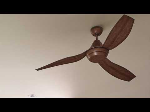 Video for Avvo Grey 56-Inch One-Light LED Ceiling Fan
