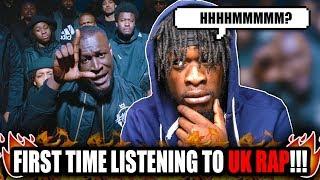 US Rapper Reacts To UK Rap ! |  Stormzy   Vossi Bop