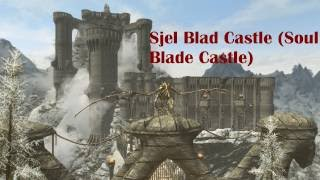 Sjel Blad Castle Mod Showcase Skyrim Special Edition Remastered (PC) by Soulbladex