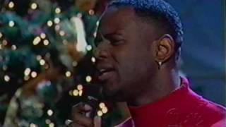 "Brian McKnight ""First Noel"" Donny and Marie"
