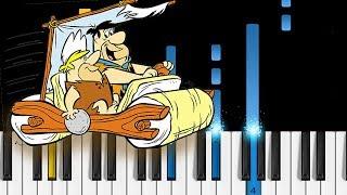 The Flintstones - Theme Song - Piano Tutorial & Sheets!