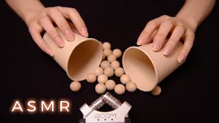 ASMR Deeply Relaxing Paper Cup Tingles 1 Hr (No Talking)