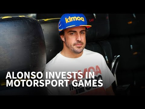 Afbeelding: Fernando Alonso investeert in E-racing en games