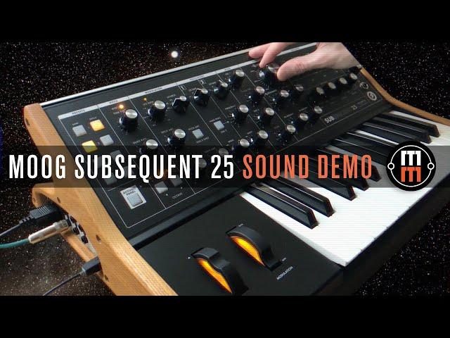 Moog Subsequent 25 - только звук, ничего лишнего!