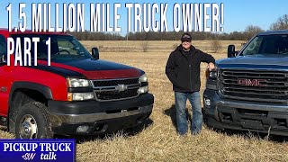1 Million Mile Chevy Silverado And 500k+ GMC Sierra, One Owner Part 1