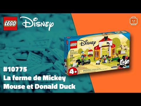 Vidéo LEGO Disney 10775 : Mickey & ses amis : La ferme de Mickey Mouse et Donald Duck
