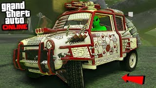 "SMALLEST DEMOLITION CAR ""GTA ARENA WAR DLC UPDATE!"" - GTA Online"