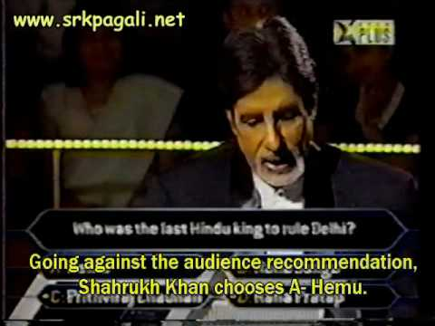 Shahrukh  at KBC part 4