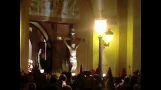 preview picture of video 'Entrada del Cristo de la Paz (Jueves Santo, Zarandona, 2012)'