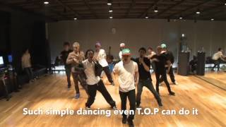 Everything you probably didn't notice about BIGBANG's Tonight Dance Practice
