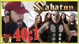 Overwhelmed | Sabaton   40:1 (live At Woodstock Festival 2012) | REACTION