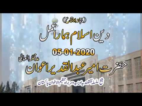Watch Deen-e-Islam aur humara aml YouTube Video