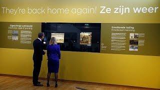 Украденные картины Ван Гога вернулись в музей Амстердама