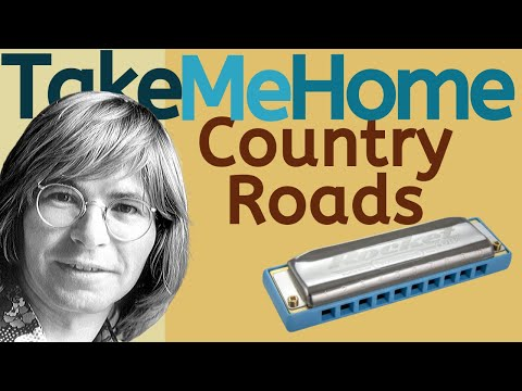 take me home country roads john denver harmonica lesson satu