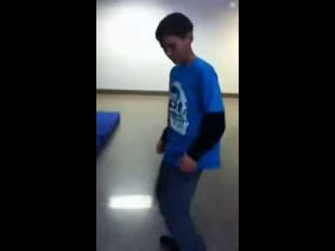 My son's awesome DANCING!!
