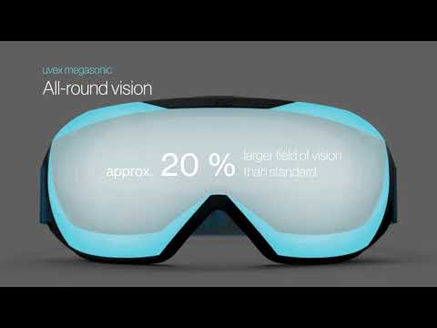 The uvex megasonic safety goggle - visionary technology at a glance