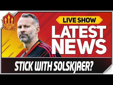 Solskjaer Needs Time Says Giggs! Man Utd News Now