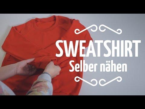 Nähen für Einsteiger // Sweatshirt selber nähen