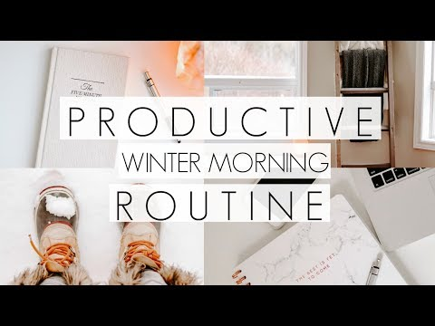 Productive Winter Morning Routine with Kids