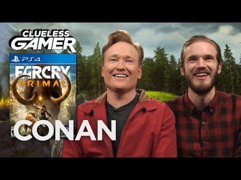 Conan a PewDiePie hrají Far Cry Primal