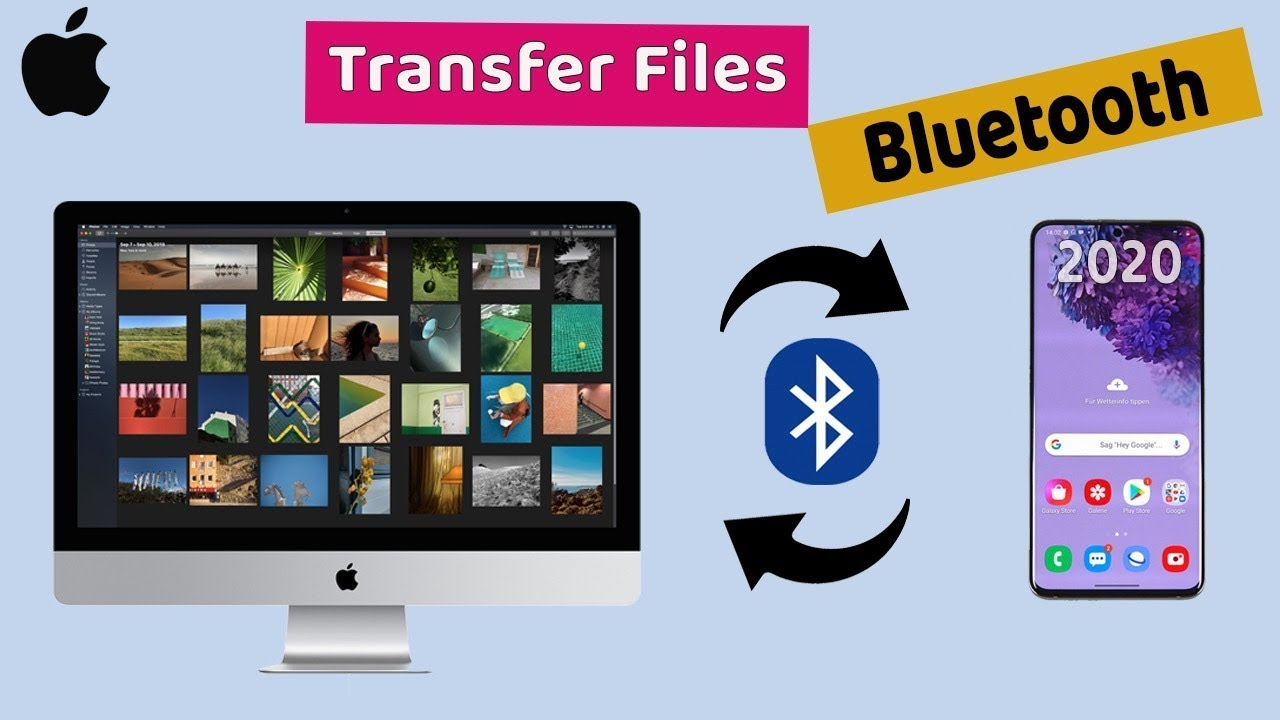 Use Bluetooth to copy files from Mac to Amazon