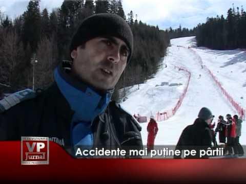 Accidente mai puţine pe pârtii
