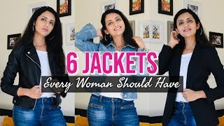 JACKETS Every Woman Should Have | Must Have Jackets  | Himani Aggarwal