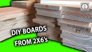 DIY Boards from 2x6's