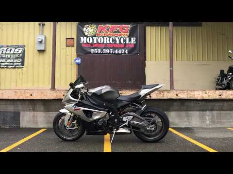 2010 BMW S 1000 RR in Auburn, Washington - Video 1