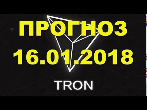 TRX/USD — TRON прогноз цены / график цены на 16.01.2018 / 16 января 2018 года