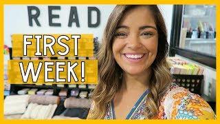 FIRST WEEK OF SCHOOL VLOG! | 4th Grade Teacher Vlogs