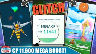 MEGA BEEDRILL at *11,641 CP* !! SUCCESSFUL *CRESSELIA DUO* - HOW TO MEGA GLITCH CP | Pokémon GO