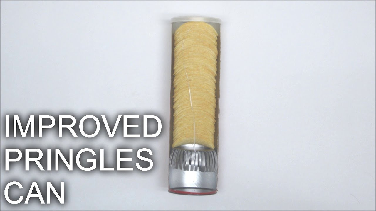 Awesome Dude Creates Can That Makes It Easy To Get Pringles Out
