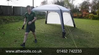Kampa Air Shelter 300 & 400 Review Video 2021