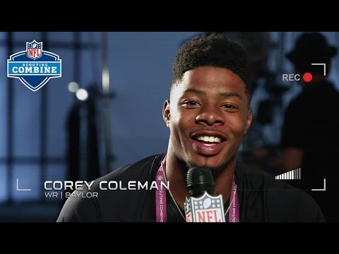 "Baylor WR Corey Coleman: ""I Need to be Great."" 