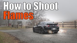 How to Make your Mazda RX8 Shoot Flames