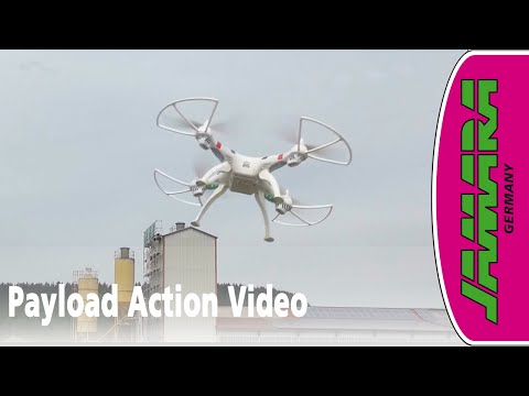 Jamara Payload Quadrocopter Drohne - Action Video