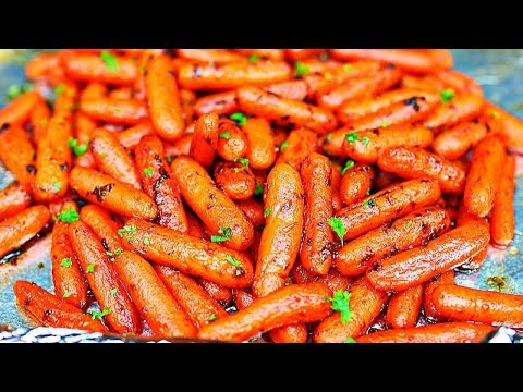 Honey Butter Roasted Carrots Recipe - How to Roast Carrots