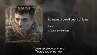 Irama - La Ragazza Con Il Cuore Di Latta [English Subtitles]