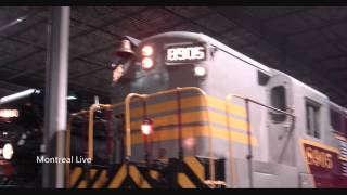 preview picture of video 'Musée Ferroviaire Canadien - Canadian Railway Museum - Exporail - Saint-Constant - Québec'