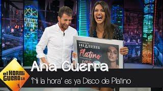 Ana Guerra Cuenta Cómo Surgió Su Nuevo Single, 'ni La Hora'  - El Hormiguero 3.0