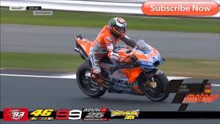 064 【MotoGP amazing skills】前のバイクが邪魔だ!俺のマシンにクラクションをつけろ!