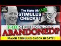 BREAKING THIRD STIMULUS CHECK UPDATE! $2,000 Stimulus Checks!   STIMULUS Checks ABANDONED?!