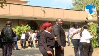 Collymore's body leaves Lee Funeral Home for burial