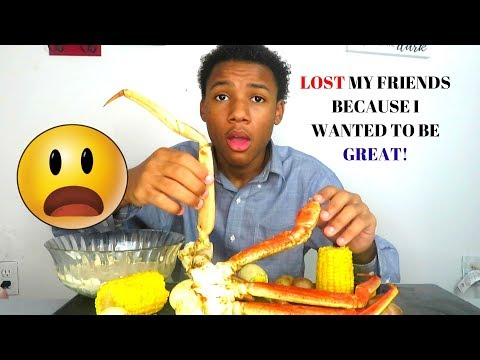 SEAFOOD BOIL MUK BANG |Storytime LOST ALL MY FRIENDS |